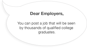 Employers, Post a Job